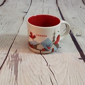 Starbucks CANADA You Are Here Mug 2015